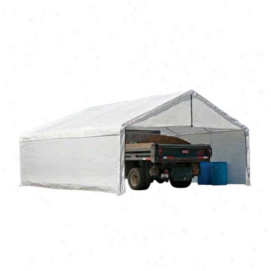 Shelterlogic 18x30 White Canopy Enclosure Kit