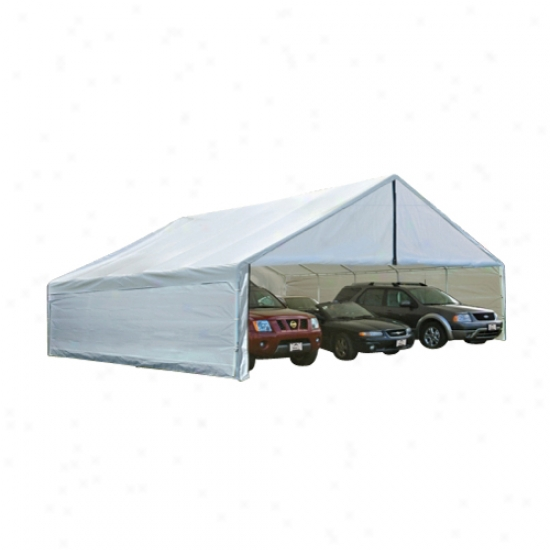 Shelterlogic 24x40 White Canopy Enclosure Kit