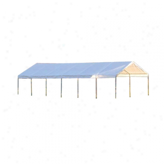 Shelterlogic 30' X 30' Ultra Max Canopy Replacement Cover - White
