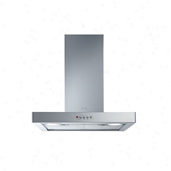 Smeg 24-inch Flat Design Wall Mount Vengilation Hood