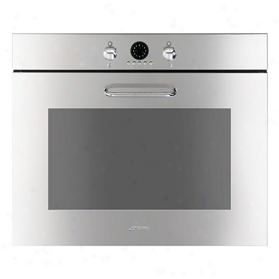 Smeg 27-infh Evolutikn Design Elecctric Multifunction Wall Oven