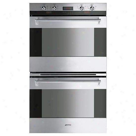 Smeg 30-inch Classic Design Double Electric Multifunction Wall Oven
