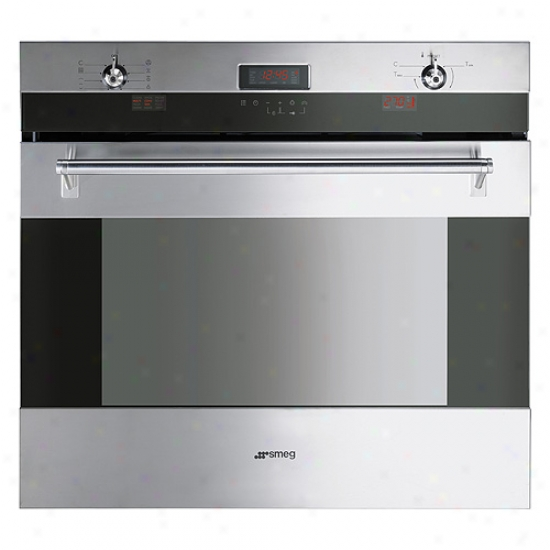 Smeg 30-inch Classic Design Electric Multifunction Wall Oven