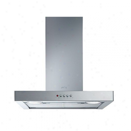 Smeg 30-inch Flat Purpose Wall Mount Ventilation Hood