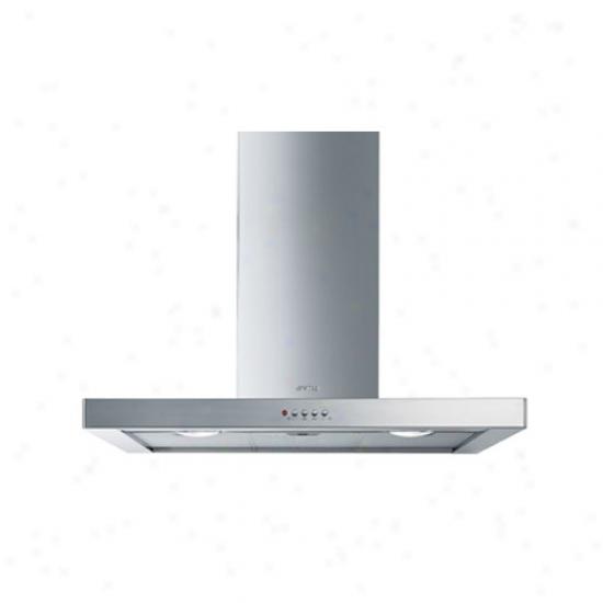 Smeg 36-inch Flat Design Wall Mount Ventilation Hide