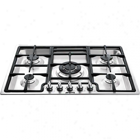 Smeg Classic Aesthetic 28 Inch Ultra Low Profile Cooktop