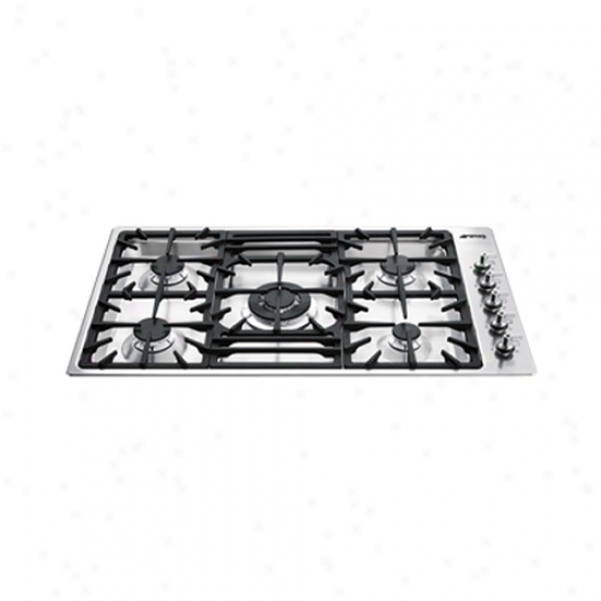 Smeg Cladsic Aesthetic 35 Inch Ultra Low Profile Cooktop