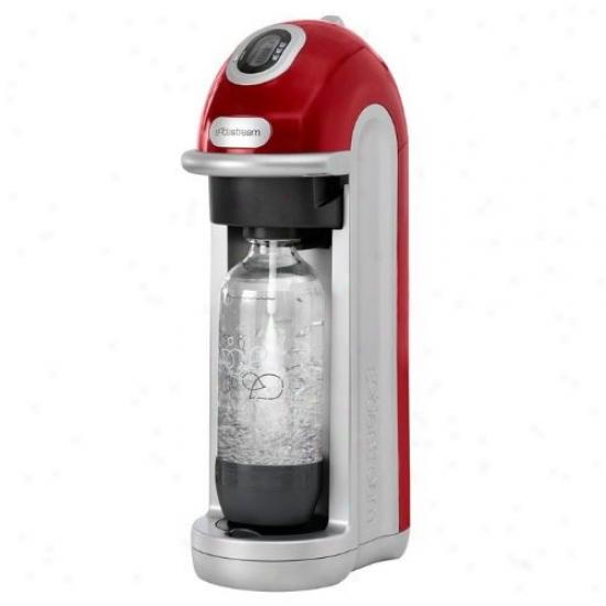 Sodastream Fizz Red Soda Maker With Starter Kit
