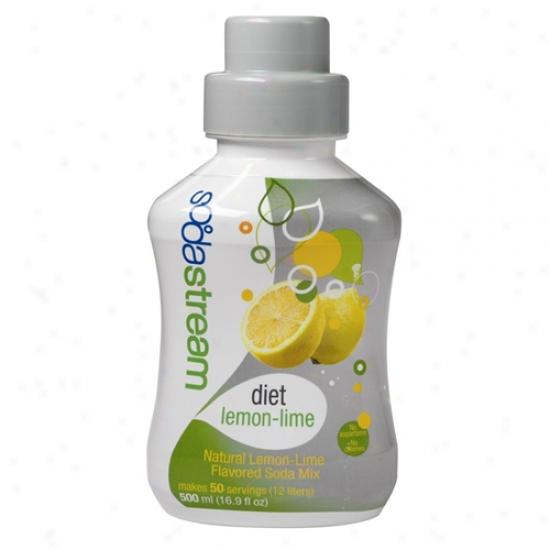 Sodastream Sodamix Six Pack - Diet Lemon-lime