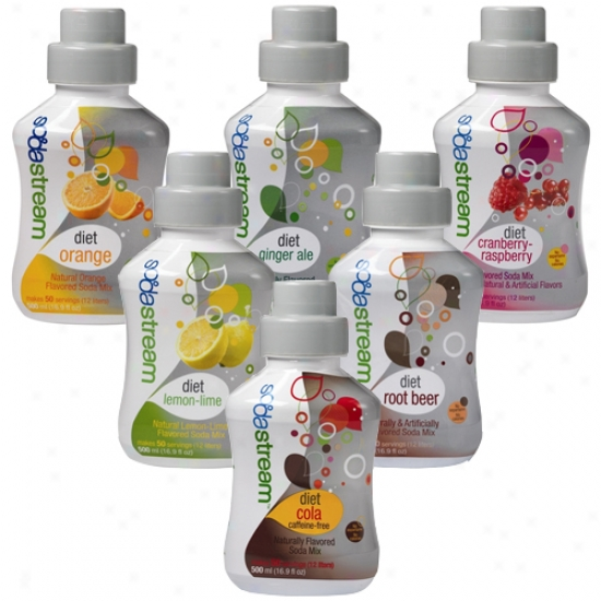Sodastream Sodamix Six Pack - Specialty Mixed Diet Flavors
