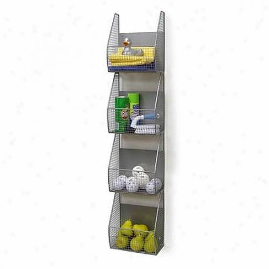 Specrtm 4-tier Vertical Wall Mount Rack