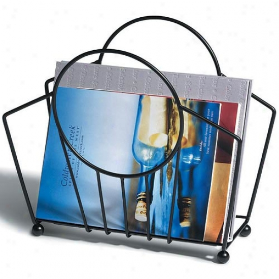 Spectrum Manhattan Magazine Basket