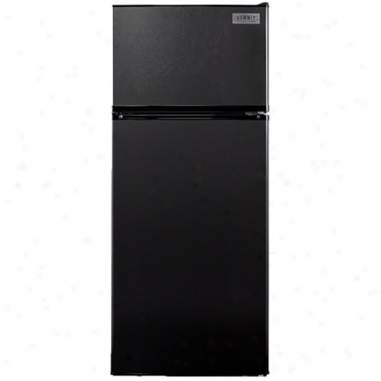 Summit 10.3 Cu. Ft. Frost-free Refrigerator - Black