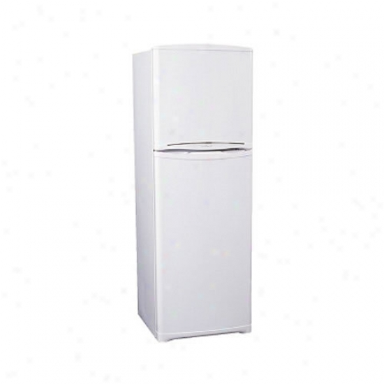 Summit 10.4 Cu. Ft. Ice Free Refrigerator W/ Icemaker - White