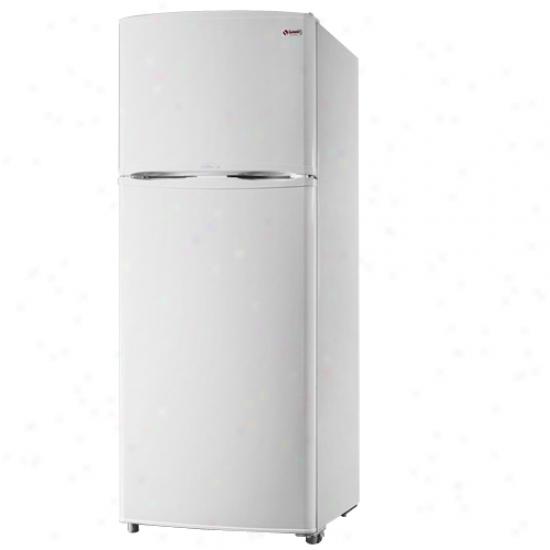 Summit 12.6 Cu. Ft. Frost Free Refrigerator - White