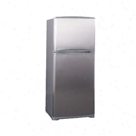 Summit 15.9 Cu. Ft. Frost Free Refrigerator W Icemaker - Stainless Steel