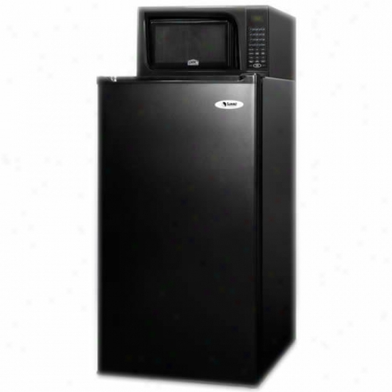 Summit 19-inch 3.9 Cu. Ft. Refrigerator-freeaer Microwace Combo