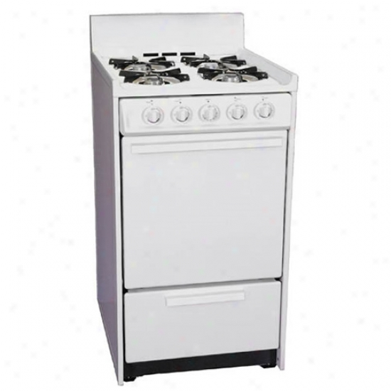 Summit 20  Gas Range - White