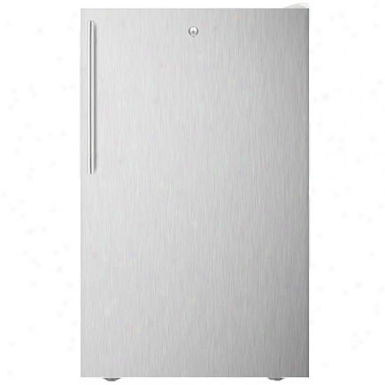 Summit 20  Stainless Steel Thin Handle Refrigeratro