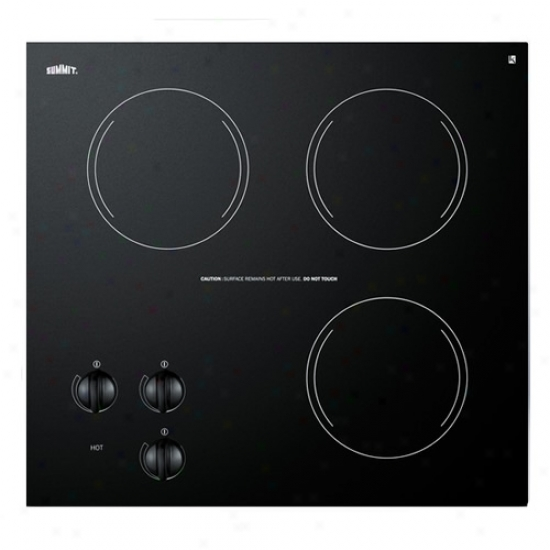 Summi t230 Volt Triple Burner Cooktop