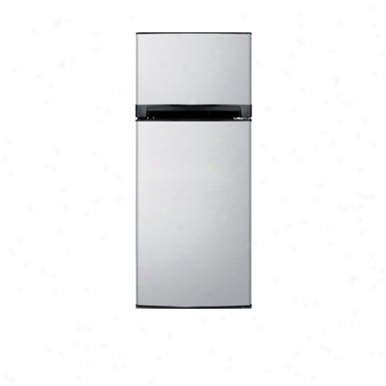 Summit 24 Inch Stainlrss Steel Refrigerator