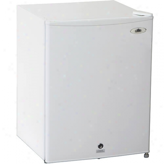 Summit 2.5 Cu. Ft. All Refrigerator With Lock