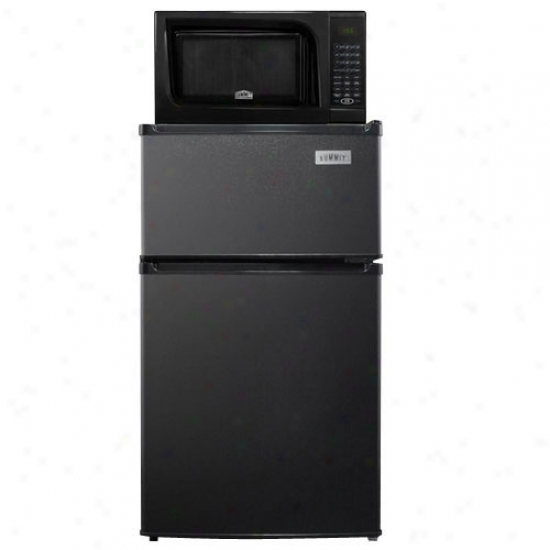 Summit 2.9 Cu. Ft. Microwave Refrigerqttor Combo