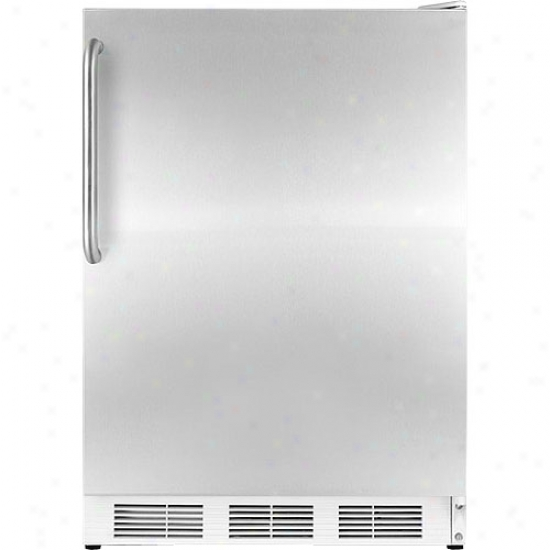 Summit 3.5 Cu. Ft. Stainless Steel Built-in Upright Medical Freezer