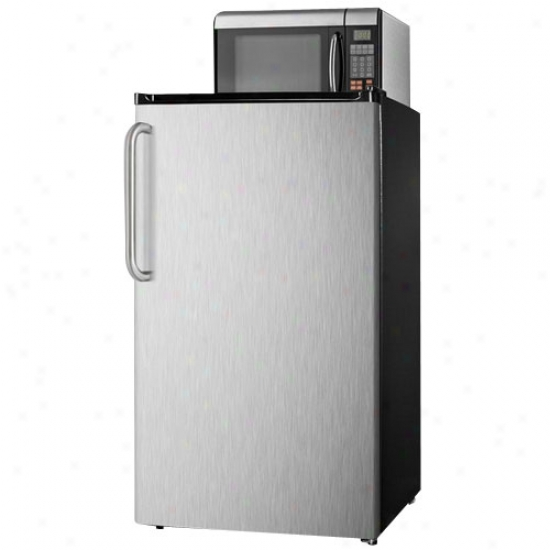 Summit 3.6 Cu. Ft .Microwave Refrigerator Combo