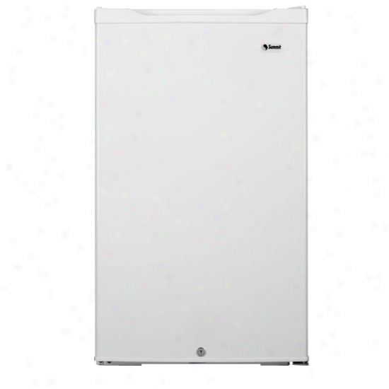 Summit 4.3 Cu. Ft  Energystar Refrigerator - White