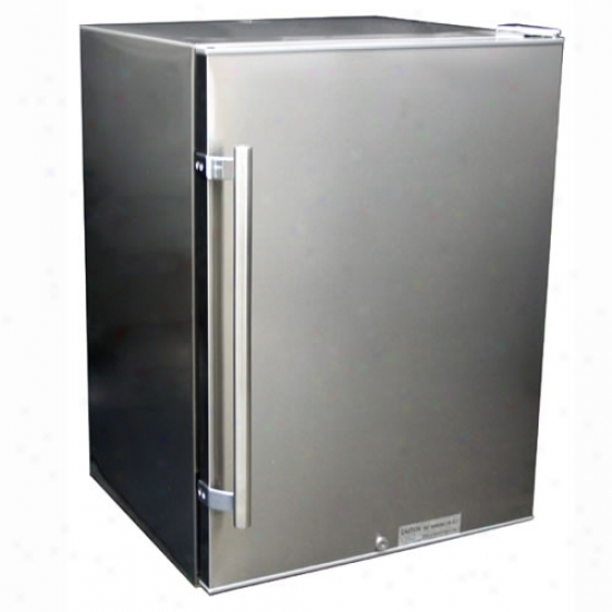 Summit 4.8 Cu. Ft. Outdoor Refrigerator - Stainless Steel