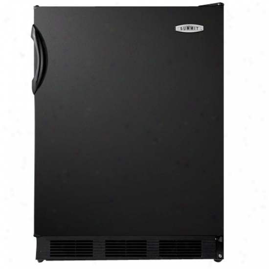 Top 5.5 Cu. Ft. Commercial All Refrigerator - Mourning, Auto Defrost