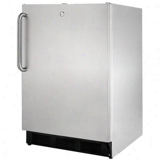Summit 5.5 Cu. Ft. Outdoor Refrigerator - Stainless Steel