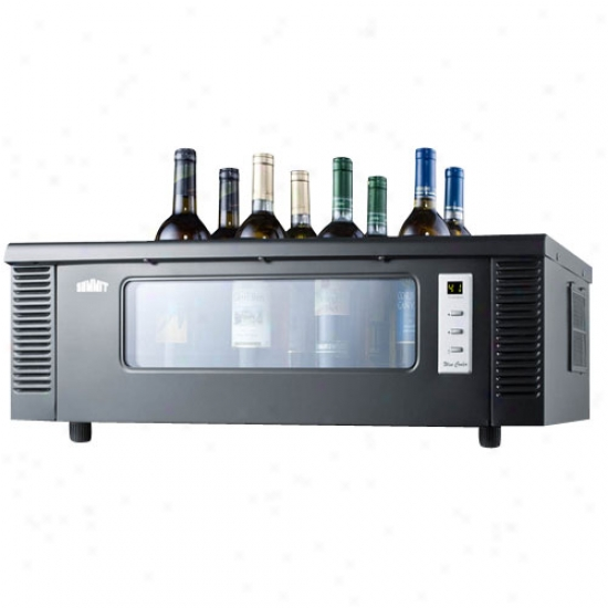 Summit 8 Bottle Countertop Wine Chiller