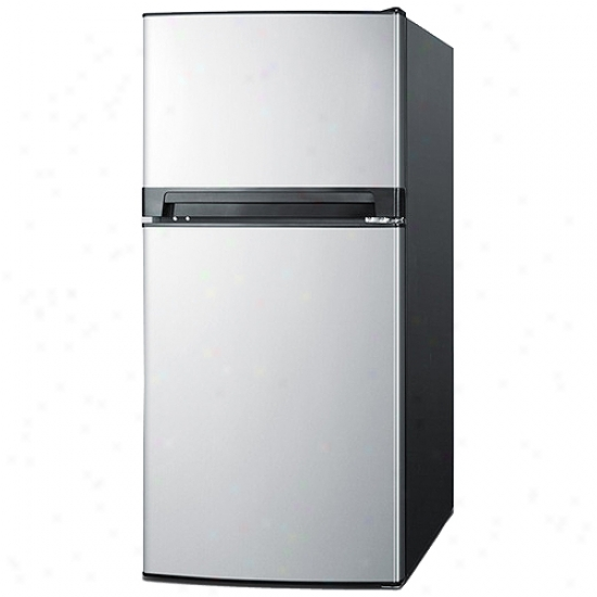 Smmit 8.1 Cu. Ft. Frost-free Apartment Refrigerator Freezer