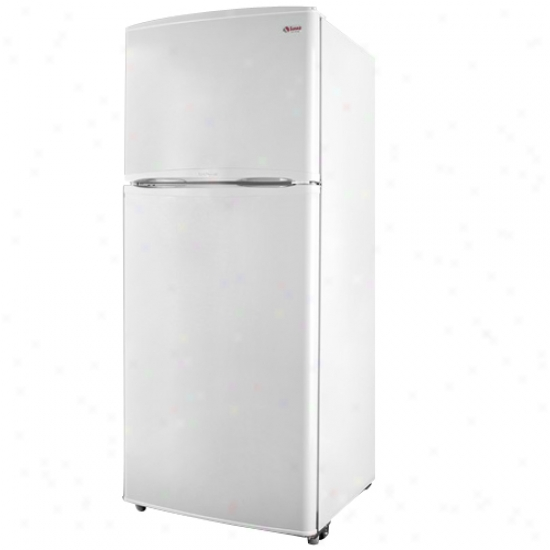 Summit 9.4 Cu. Ft. Frost Free Refrigerator - White
