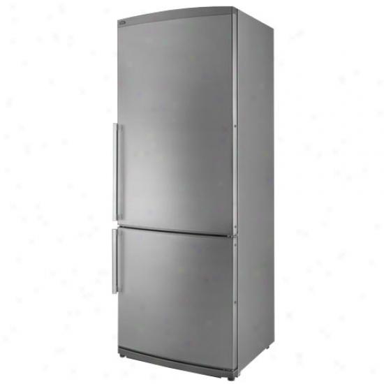 Summit 9.8 Cu. Ft. 24 In Wide Energystar Refrigerator - Stainleas Steel