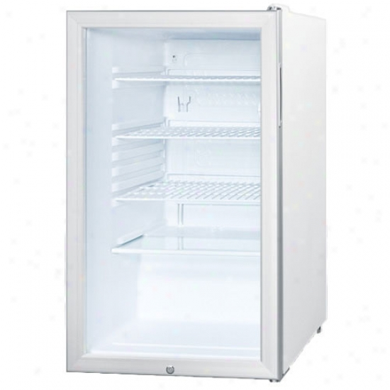 Summit Commercial Ada 20  Glass Door Free Standing Refrigerator