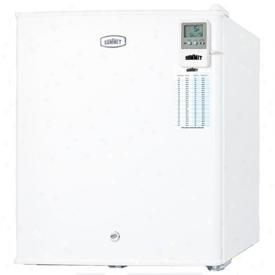 Summit Compact All-freezer W/ Lock & Traceable Thermometer
