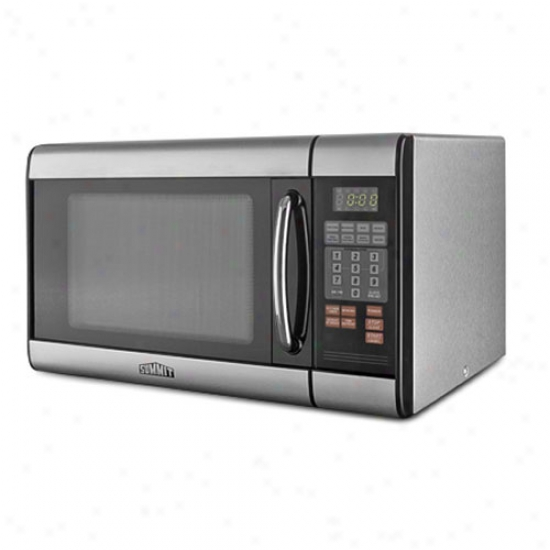 Summit Countsrtop Microwave Oven - Stainless Case-harden