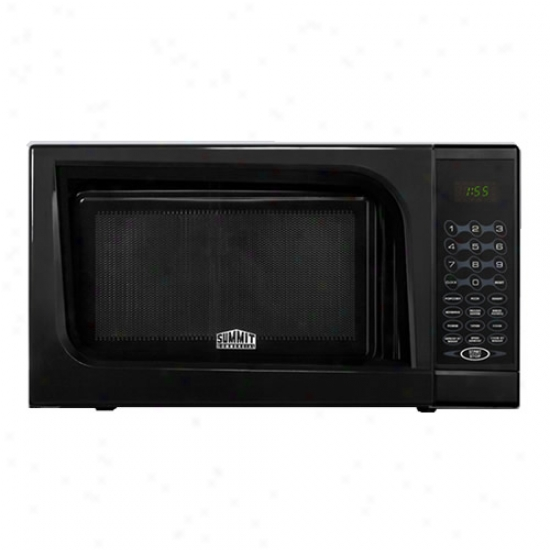 Summit Digital Hinder Countertop Microwave