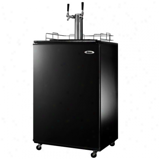 Top Professional Double Tap Beer Kegerator