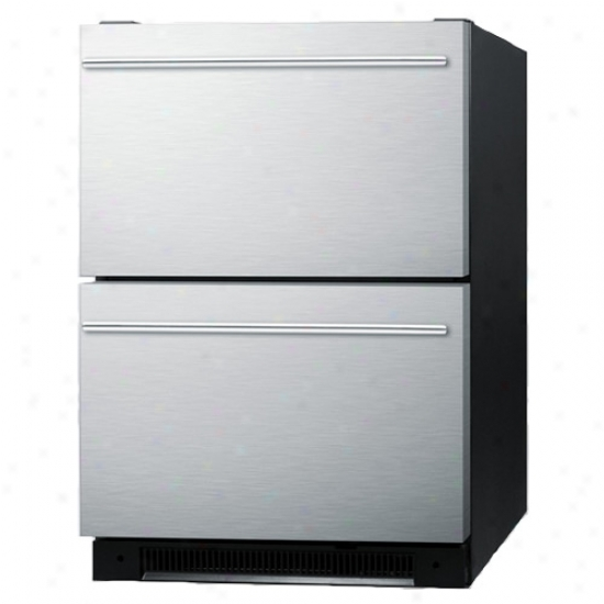 Top Stainless Steel Built In Drawer Refrigerator
