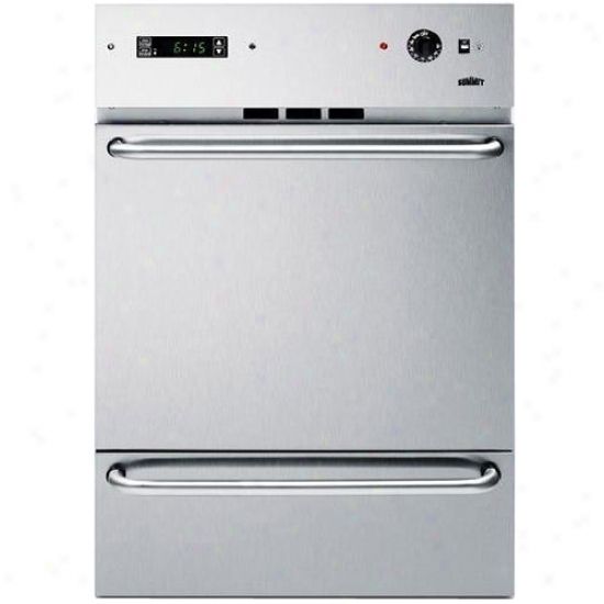 Summit Stainless Harden Gas Wall Oven