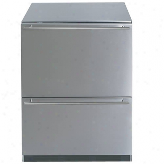 Summit Two Drawer 24 Inch Wide All Refrigerator
