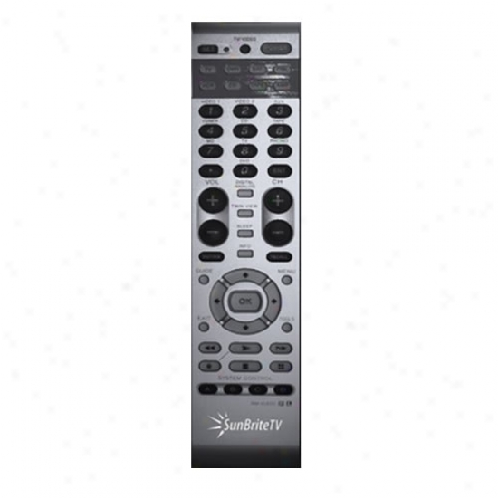 Sunbrite Universal Learning Remote In spite of All Weather Lcd Tv