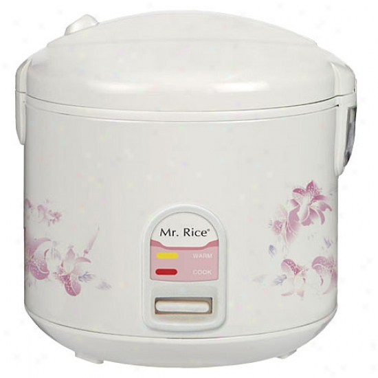 Sunpentown 10-cup Riice Cooker - White