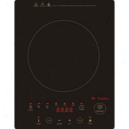 Sunpentown 1300w Induction Cooktop - Freestanding Or Built-in