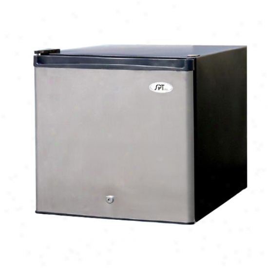 Sunpentown 1.5 Cu. Ft. Uprighy Press together Freezer - Stainless Steel
