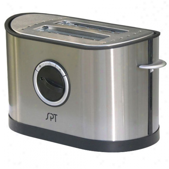 Sunpentown 2-slot Stainless Steel Toasterr